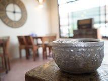 De traditionele Thaise kop die van ` s in vroeger tijden gebruiken royalty-vrije stock fotografie