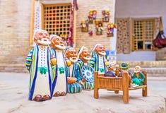 De traditionella souvenirna Arkivbild