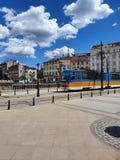 De tram stock afbeeldingen