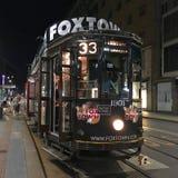 De tram royalty-vrije stock foto's