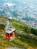 De Tram van Airial van de Poort van de hel Stock Foto's