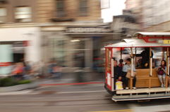 De Tram van Airial van de Poort van de hel Stock Afbeelding