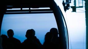 De Tram van Airial van de Poort van de hel Stock Foto