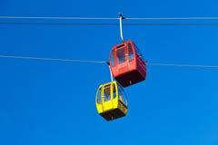 De Tram van Airial van de Poort van de hel Stock Fotografie