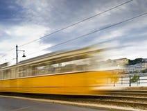 De Tram van Boedapest Stock Fotografie
