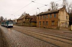 De tram van de periferie Royalty-vrije Stock Fotografie
