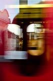 De Tram van de snelheid in Wenen royalty-vrije stock foto's