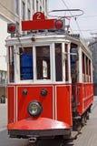De tram van de stad Stock Afbeelding