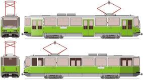 De tram van de stad stock illustratie