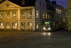 De tram van Helsinki Stock Afbeelding