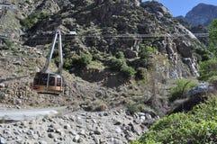 De tram van het Palm Springs het uitgaan Stock Fotografie