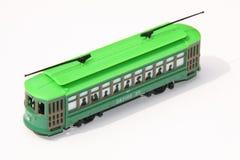 De tram van het stuk speelgoed Stock Fotografie