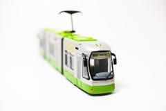 De tram van het stuk speelgoed Stock Foto