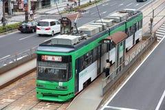 De tram van Hiroshima Stock Afbeeldingen
