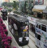 De Tram van Hongkong royalty-vrije stock foto's