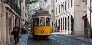 De tram van Lissabon Stock Foto