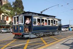 De tram van Tibidabo Stock Fotografie
