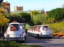 De Trams van bezoekers Royalty-vrije Stock Foto