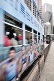 De Trams van Hongkong Royalty-vrije Stock Afbeeldingen