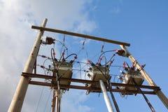 De transformator van de elektriciteit Royalty-vrije Stock Foto's