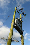 De Transformator van de elektriciteit Stock Fotografie
