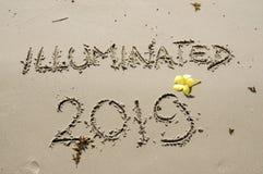 2018/2019 de transição - véspera de anos novos imagens de stock