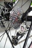 De transmissie van de fiets Stock Foto