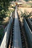 De Transportband van de mijnbouw royalty-vrije stock afbeeldingen