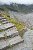 De trap van de steen Stock Foto's