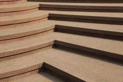 De trap van de steen in park Royalty-vrije Stock Foto's