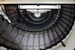 De trap van de vuurtoren Stock Afbeelding
