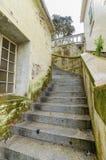 De trap van het Alcatrazeiland, San Francisco, Californië Stock Foto's