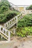 De trap van het Alcatrazeiland, San Francisco, Californië Royalty-vrije Stock Afbeeldingen