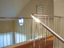De trap van het chroom Royalty-vrije Stock Afbeeldingen
