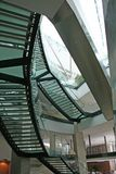 De trap van het glas Royalty-vrije Stock Foto