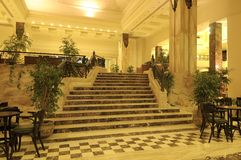 De Trap van het hotel Royalty-vrije Stock Fotografie