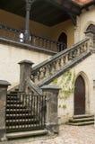De Trap van het kasteel Stock Fotografie