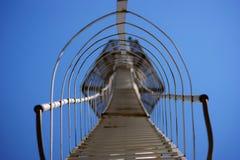 De trap van het metaal. Royalty-vrije Stock Fotografie
