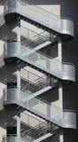 De trap van het staal Royalty-vrije Stock Afbeeldingen