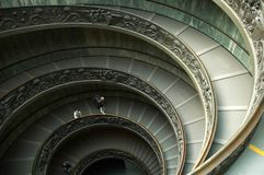 De trap van Vatikaan Stock Foto's