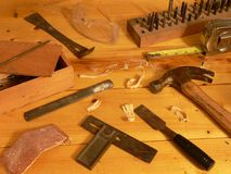 De travail du bois toujours durée Images stock
