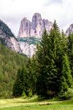 De tre maxima av Lavaredo, Italien arkivfoton
