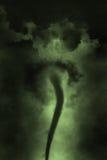 De Trechterwolk Twister van het tornadoonweer Stock Foto's