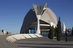 De treden en de bouw van Valencia Stock Foto's