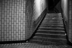 De Treden van de metro Royalty-vrije Stock Fotografie