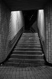 De Treden van de metro Stock Afbeelding