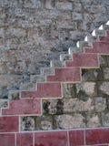 De treden van de steen Stock Foto