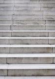 De treden van het cement stock fotografie