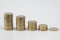 De treden van het geld Stock Fotografie