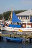 De treiler van vissen Royalty-vrije Stock Foto's